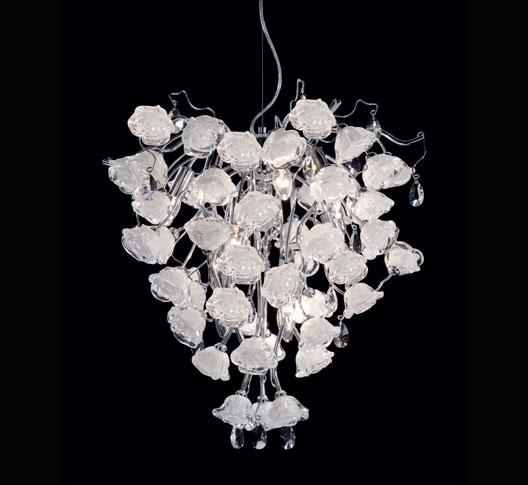 Lampadari bianchi classici la collezione di for Lampadari bianchi